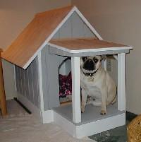 build your own dog house. Black Bedroom Furniture Sets. Home Design Ideas