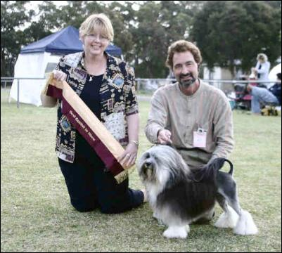 Best In Show , Best Intermediate in show, & Best in Toy Group - Hunter Kennel Club -  Sunday 19th Sept 2004