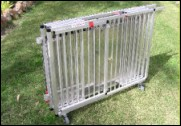 Folding Show Trolley from Dog Crates. Retails from $595