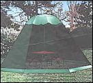 Umbrella Tent from WA Pet Show Supplies - easily fits over show umbrella